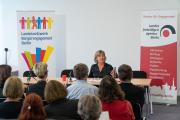 Impuls Prof. Dr. Andrea Römmele | Foto: Landesfreiwilligenagentur Berlin / Gregor Baumann