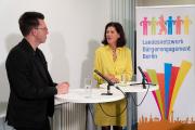 Carola Schaaf-Derichs im Gespräch mit Dr.  Serge Embacher